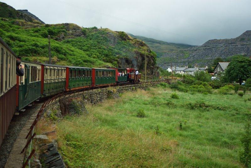 Le Ffestiniog Railway, voie d'accès idéale