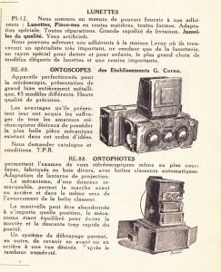 Publicité ontoscope